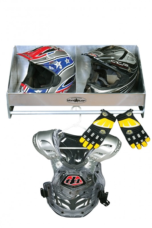 Double Helmet Caddy