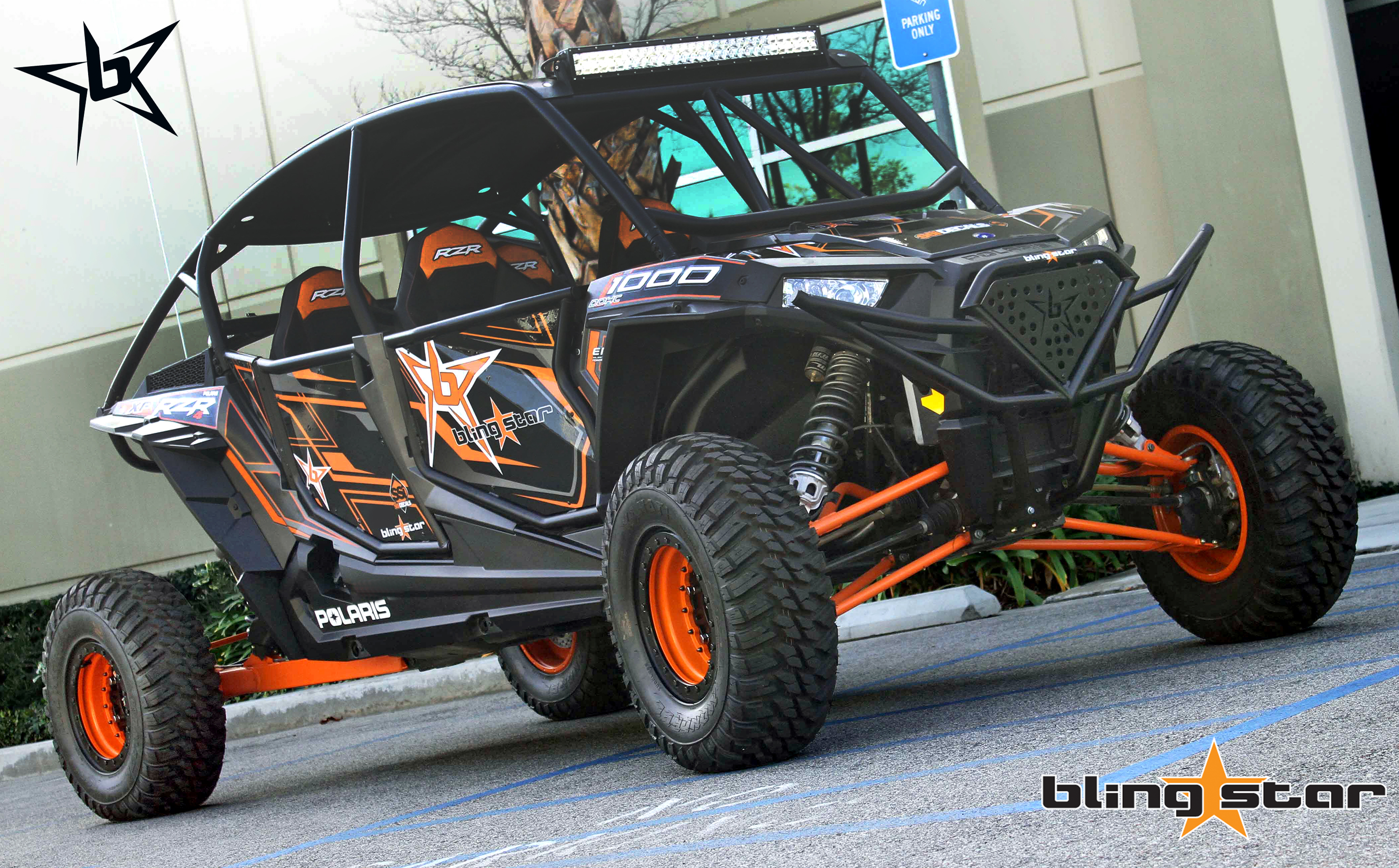 Polaris RZR XP1000 4 Suicide Doors