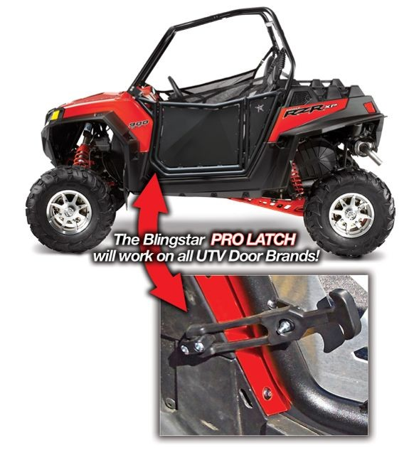 Polaris RZR S800, XP900 Suicide Door Pro Latch
